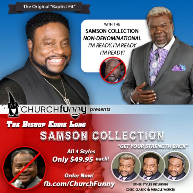 The Bishop Eddie Long Samson Collection - image 4